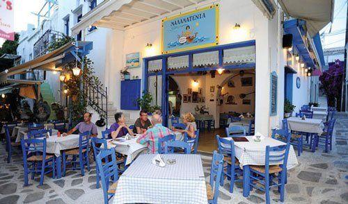 εστιατόρια και οι ταβέρνες της Τήνου