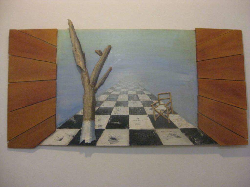 Barcelona and my paintings 008