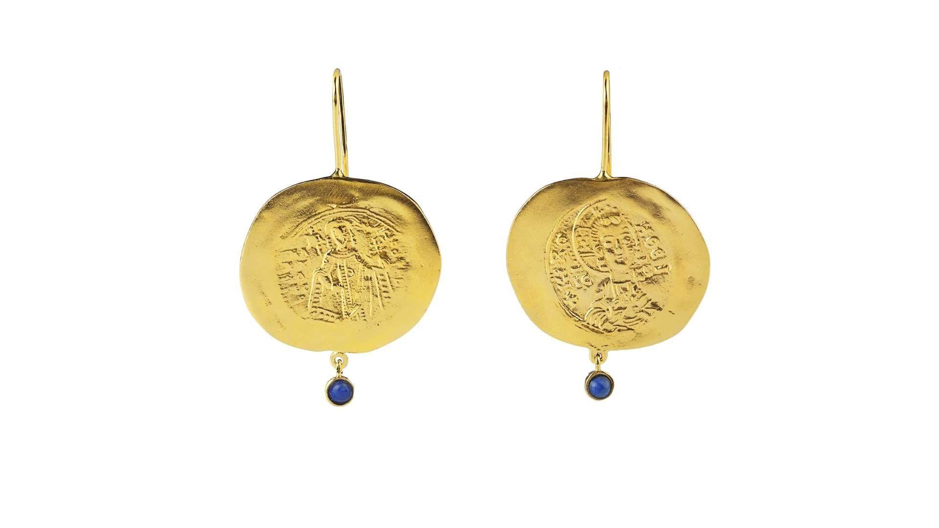 constantinato earrings bleu stone danai gianelli_high